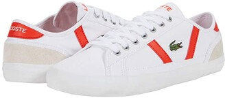 Lacoste Sideline 0120 6 (White/Red) Men's Shoes