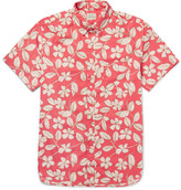 J.crew - Button-down Collar Floral-print Cotton Shirt