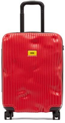CRASH BAGGAGE Stripe 55cm Cabin Suitcase - Red
