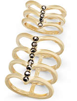 INC International Concepts Gold-Tone 2-Pc. Set Stone Multi-Row Rings, Only at Macy's