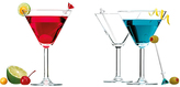 Bar Essentials Martini Glass - Set of Four