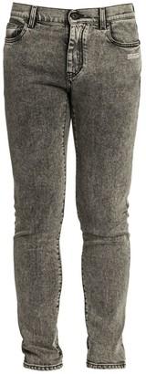 Off-White Logo Skinny Jeans