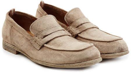 Officine Creative Suede Loafers
