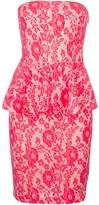 Pinko 'Gaspare' peplum dress