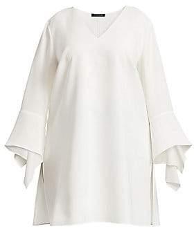 Lafayette 148 New York Lafayette 148 New York, Plus Size Women's Rosita Bell-Sleeve Silk Blouse