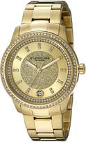 Stuhrling Original Women's 794.02 Symphony Analog Display Quartz Gold Watch