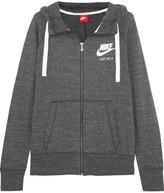 Nike Gym Vintage Cotton-blend Hooded Top