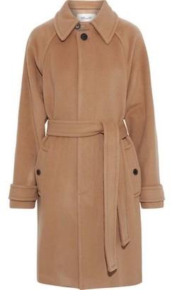 Diane von Furstenberg Lia Belted Wool-felt Coat