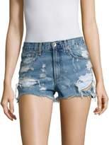 Rag & Bone Brokenland Justine High-Rise Distressed Shorts