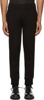 Neil Barrett Black Skinny Lounge Pants