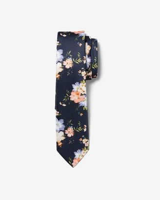 Express Narrow Floral Tie