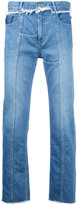 Christian Dada front seam jeans