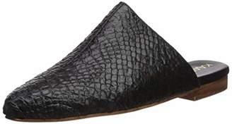 Kaanas Women's Genoa Snake Skin Mule Slide Shoe Loafer Flat 7 Regular US