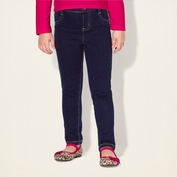 Children's Place Five-pocket knit denim pants