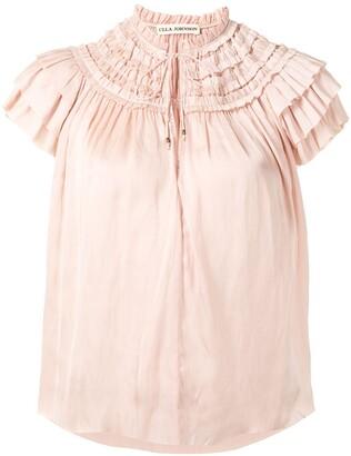 Ulla Johnson Eva ruffled cotton blouse