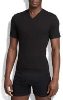 Spanx Men's V-Neck Cotton Compression T-Shirt