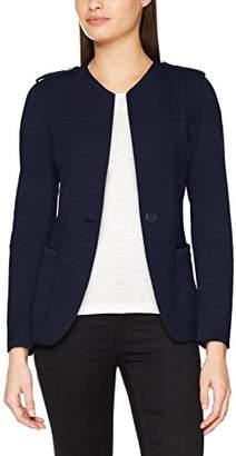 Benetton Women's L/s Cardigan (Blue 06u), (Size: 46)
