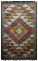 Novica Handcrafted Jute 'Kashmir Kaleidoscope' Rug (6x9) (India)