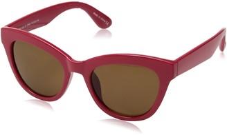 H Halston Women's HH 135 Cat Eye Fashion Designer UV Protection Sunglasses Cateye