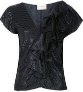 Maison Rabih Kayrouz ruffled blouse