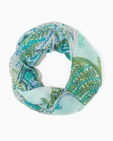 Charming charlie Floral Paisley Infinity scarf