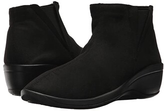 ARCOPEDICO Luana (Black Faux Suede) Women's Shoes