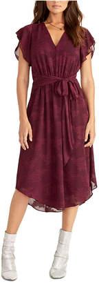 Rachel Roy Belted Lace Dress