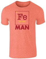 PCG Pop Threads Fe Man Superhero Element S Short Sleeve T-Shirt