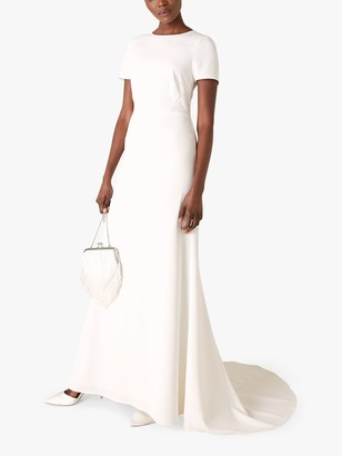 Monsoon Shauna Bridal Maxi Dress, Ivory