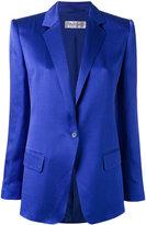 Max Mara one button blazer - women - Silk/Polyamide/Acetate - 40
