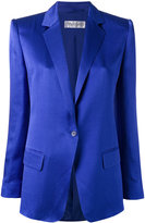 Max Mara one button blazer - women - Silk/Polyamide/Acetate - 44
