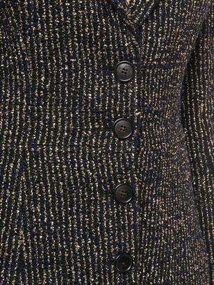 John Galliano Pre-Owned Metallic Striped Blazer