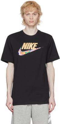 Nike Black Sportswear Preheat Swoosh T-Shirt