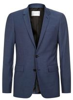 Sandro Notch Wool-Blend Blazer