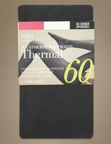 Marks and Spencer 60 Denier Thermal Opaque Tights