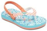 Roxy Kids' TW Pebbles VI Flip Flop Sandals Flat