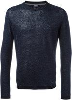 Woolrich plain sweatshirt - men - Linen/Flax - S