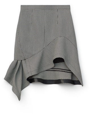 Collection Deconstructed Ruffle Mini Skirt