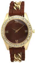 OLIVIA PRATT Olivia Pratt Unisex Red Bracelet Watch-B80005burgundy