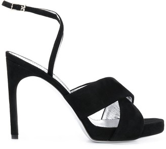 Givenchy Ankle Strap High Heel Sandals