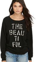 Denim & Supply Ralph Lauren Drapey Graphic Sweatshirt