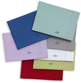Lacoste Brushed Twill Sheet Set - Deep Sea Coral