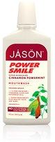 Jason Powersmile Mouthwash, Cinnamon Powermint, 16 Ounce