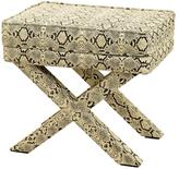 Twos Company Royal Python Rectangle Bench