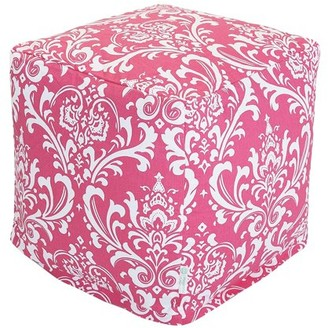 Majestic Home Goods French Quarter Indoor Ottoman Pouf Cube