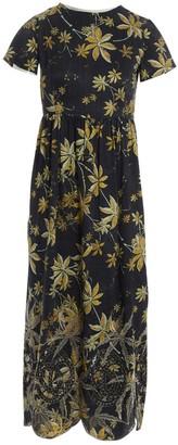 Suno Multicolour Silk Dresses