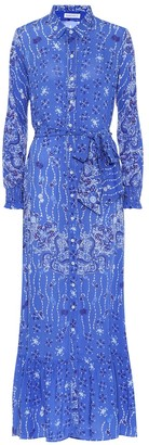 Poupette St Barth Kimi printed maxi dress