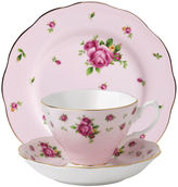 Royal Albert New Country Roses 3-pc. Cup and Saucer Set