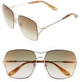 Givenchy 58mm Oversized Sunglasses
