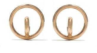 Charlotte Chesnais medium Saturn Blow earrings